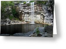 Awosting Falls In July II Greeting Card