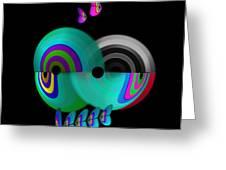 Axis Web Greeting Card