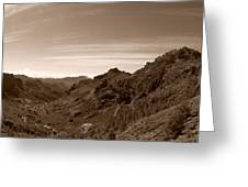 Ayacata And Roque Nublo 2 Greeting Card
