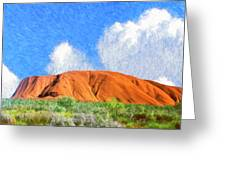 Ayers Rock Greeting Card