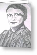 Ayn Rand Greeting Card