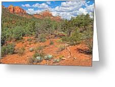 Az-sedona-soldier Pass Trail. Greeting Card