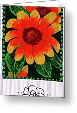 Azalea Festival Sign Greeting Card