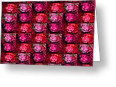 Azalea Garden Canopy1 Greeting Card