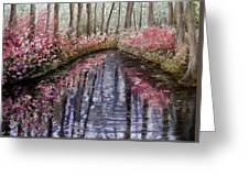 Azalea River Greeting Card
