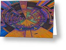 Aztec Abstract Greeting Card