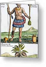 Aztec: Chocolate, 1685 Greeting Card