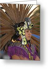 Aztec Dancer Greeting Card