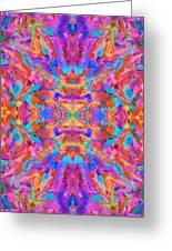 Aztec Kaleidoscope - Pattern 030 Greeting Card