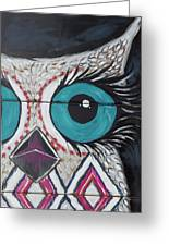 Aztec Owly Greeting Card