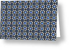 Azulejos Magic Pattern - 05 Greeting Card