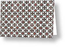 Azulejos Magic Pattern - 06 Greeting Card