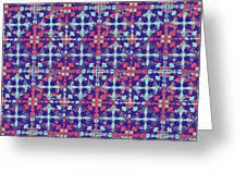 Azulejos Magic Pattern - 07 Greeting Card