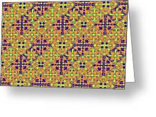 Azulejos Magic Pattern - 09 Greeting Card