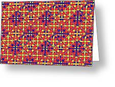 Azulejos Magic Pattern - 10 Greeting Card