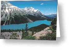 Azure Alberta Greeting Card