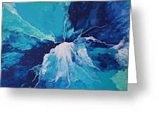 Azure Impulse  Greeting Card