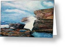 Azure Window - After Greeting Card