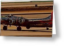 B-17 Bomber Greeting Card