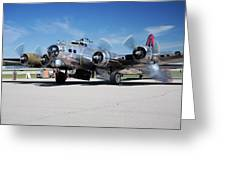 B-17 Flying Fortress, Yankee Lady Greeting Card