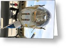 B-17 Front  Greeting Card