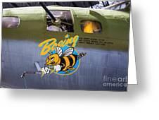 B-17 Restored Greeting Card