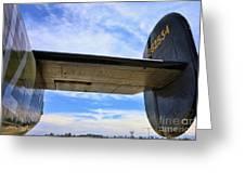 B-24j Tail  Greeting Card