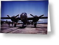 B-25 Bombers Greeting Card