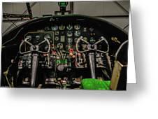 B-25 Mitchell Cockpit Greeting Card