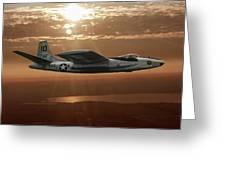 B-45c Tornado Greeting Card