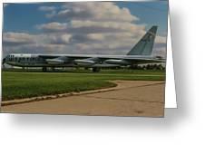 B-52 City Of Riverside Greeting Card
