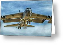 B-52 Departure Color Greeting Card