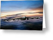 B-52 Inbound Greeting Card