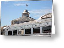 B And O Railroad Museum In Baltimore Maryland Greeting Card