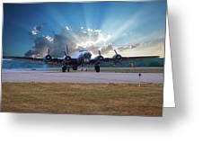 B17 Landing Greeting Card
