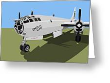 B29 Superfortress Greeting Card