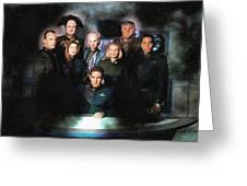 B5 Among The Stars Greeting Card