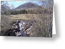 Ba Bridge, West Highlands, Scotland Greeting Card