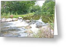 Babbling Brook Greeting Card