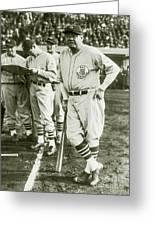Babe Ruth All Stars Greeting Card