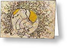 Baby Elephant  Greeting Card