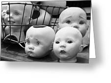 Baby Heads, No.1  Greeting Card