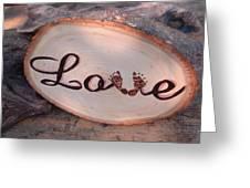 Baby Love Greeting Card by Dakota Sage