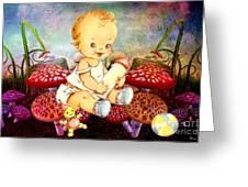 Baby Magic Greeting Card