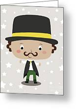 Baby Magician Greeting Card