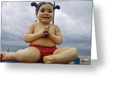 Baby Picture Greeting Card