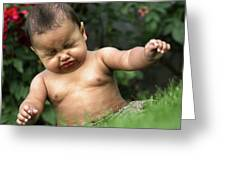 Baby Sneeze Greeting Card