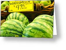 Baby Watermelons Greeting Card