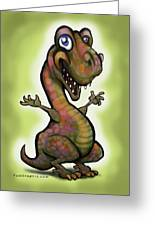 Babysaurus Rex Greeting Card