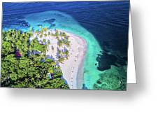 Bacardi Beach Greeting Card